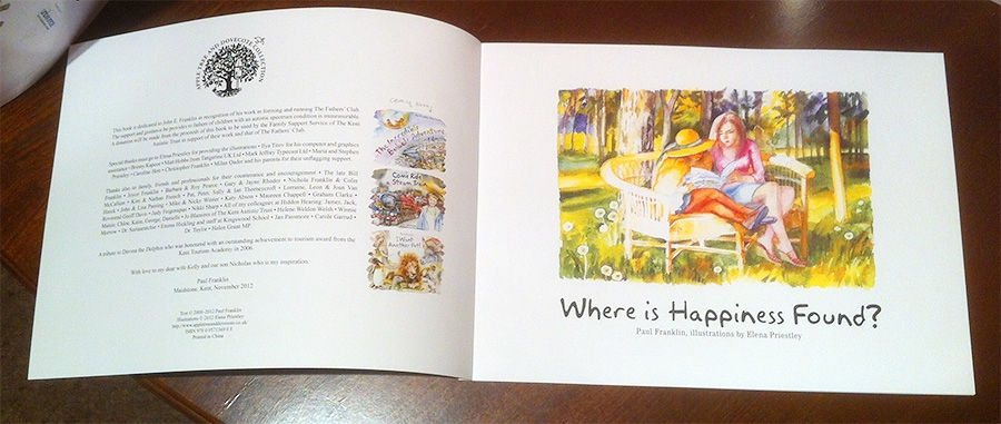 Where is Happiness Found inside cover