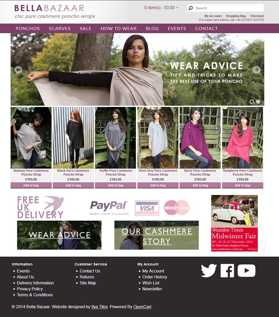 Bella Bazaar online shop