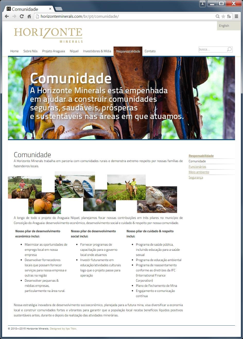 Portuguese community page