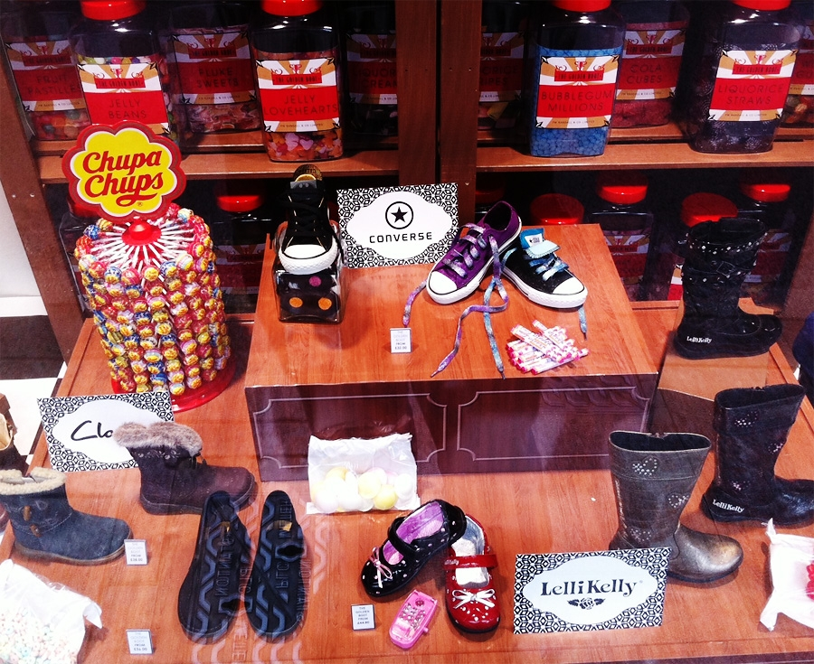 Sweet shop window